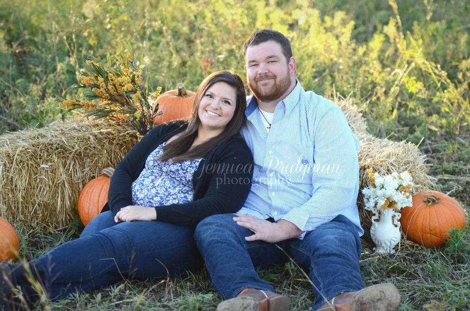 Haybales and Pumpkins   Fall Mini-Sessions   Conway, AR Photographer