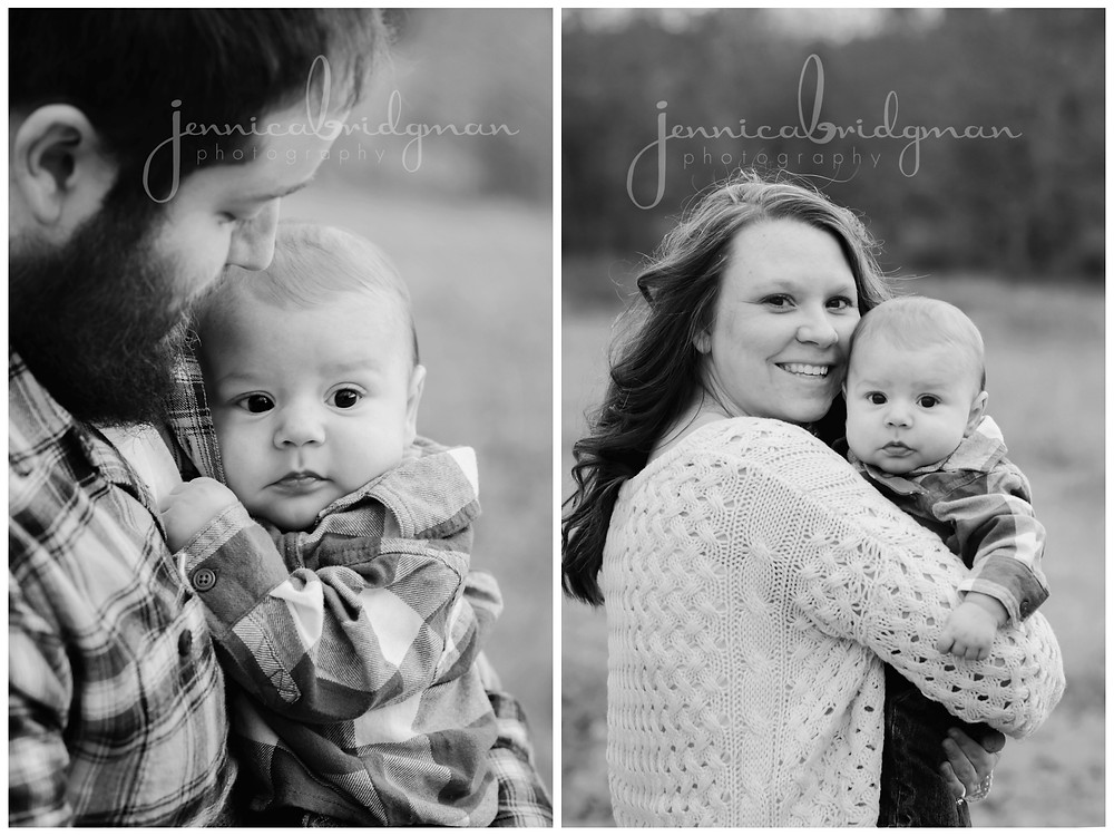 Williams Family | Fall Family Photo Session | Conway, AR Family Photographer