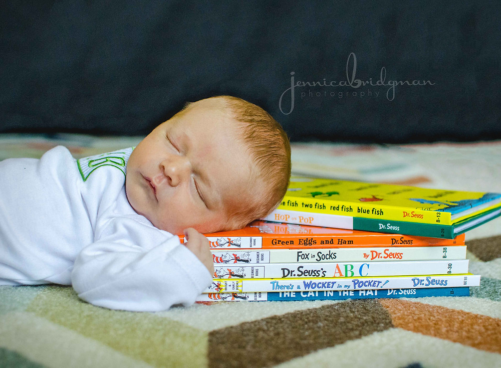 Baby Cole | Lifestyle Newborn Session | Conway, AR Newborn Photographer