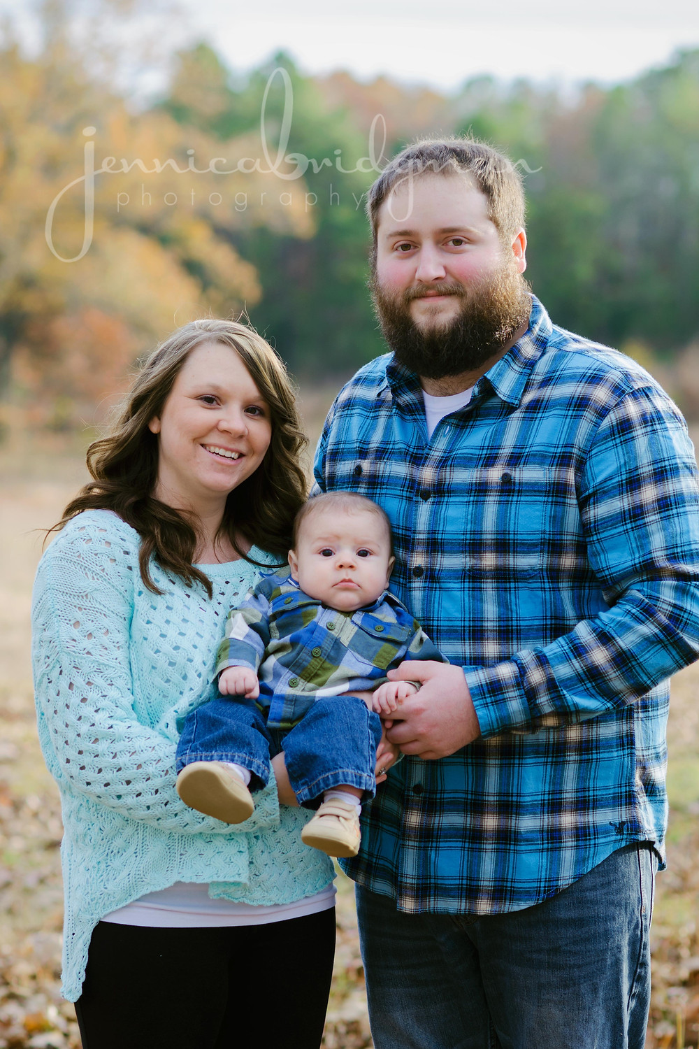 Williams Family   Fall Family Photo Session   Conway, AR Family Photographer