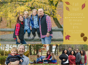 GIVEAWAY! | Fall Mini-Sessions | Conway, AR Photographer