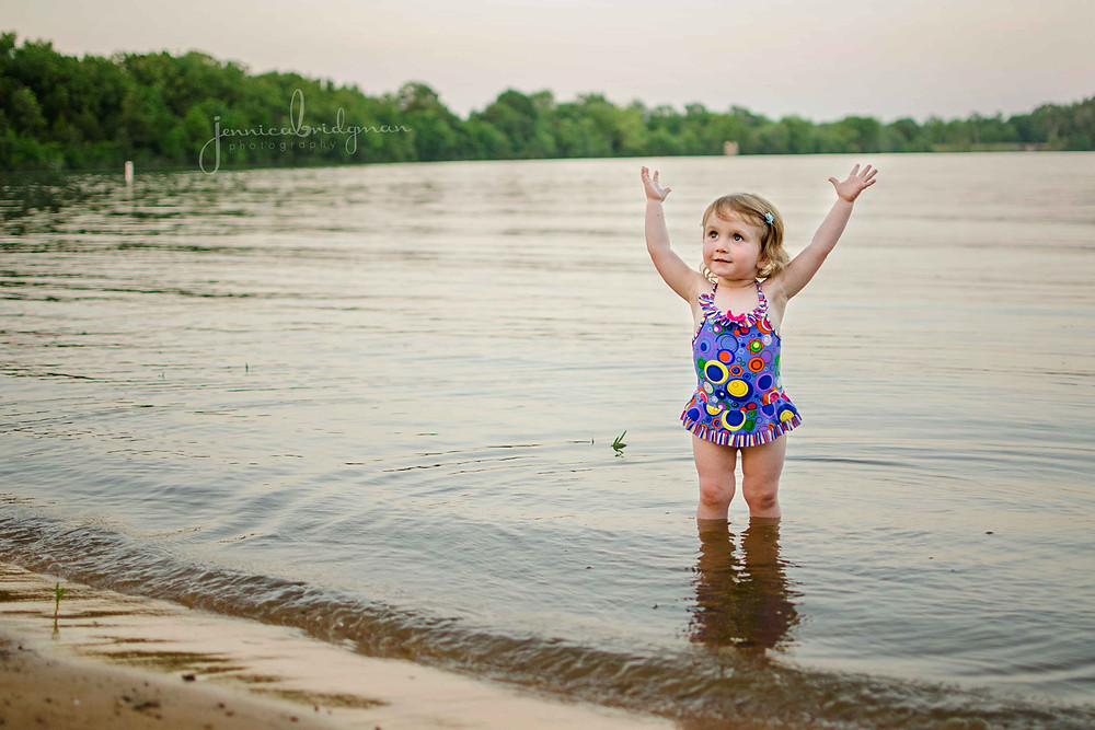 Brynna is TWO! | Lake Beaverfork Child Session | Conway, AR Family Photographer