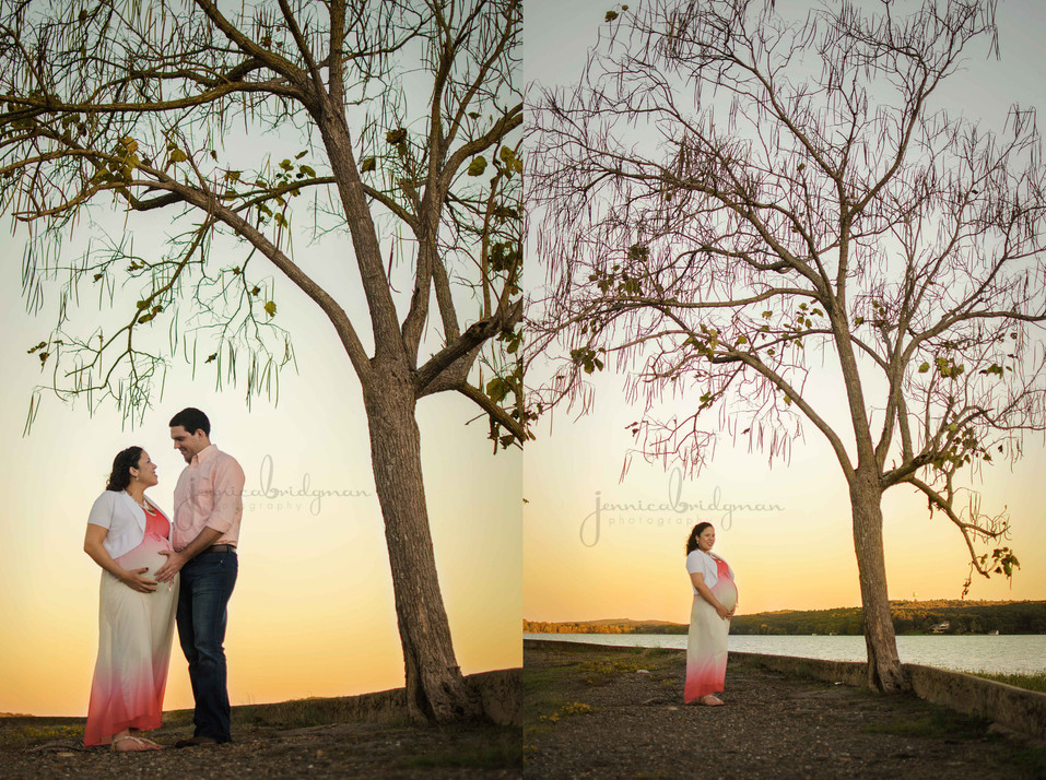 Stunning Momma-To-Be | Lake Beaverfork Maternity Session | Conway, AR Maternity Photographer