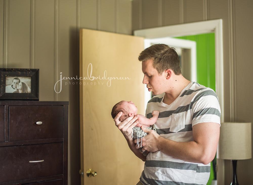 Karis | 6 Days New | Lifestyle Newborn Session | Conway, AR Newborn Photographer