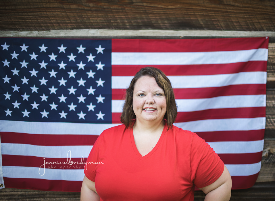 Ashley's Patriotic Session | Cadron Settlement Park Portrait Session | Conway, AR Photographer