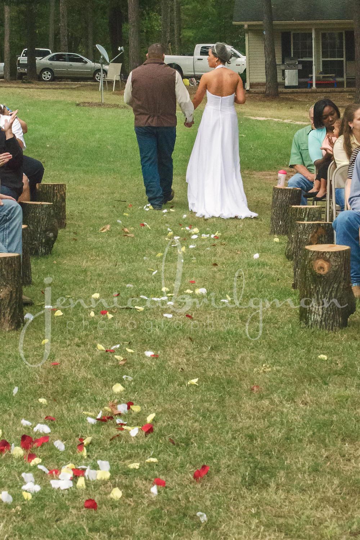 Holly + Glenn Married! | DIY Backyard Wedding | Conway, AR Wedding Photographer