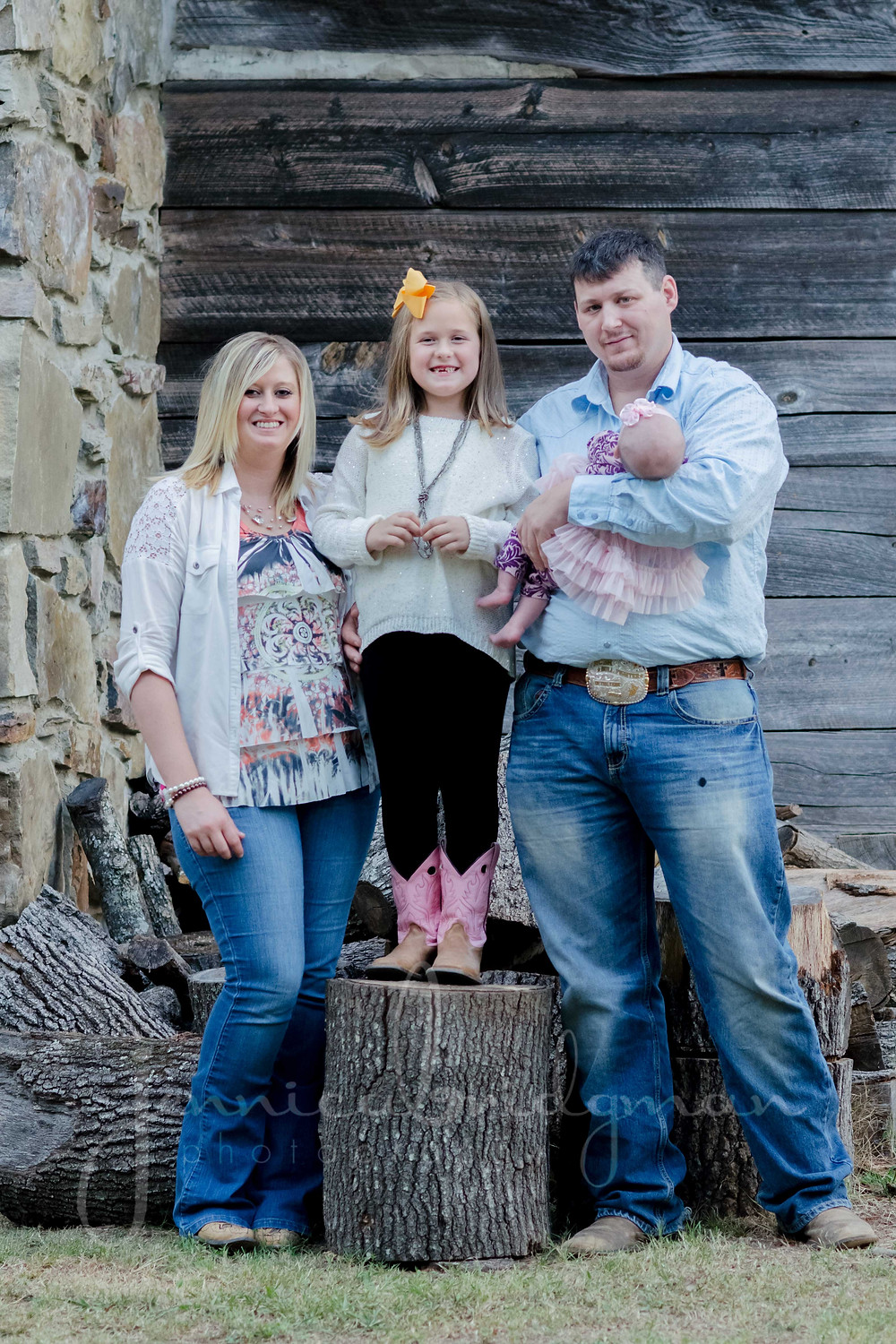 Family of 4 | Cadron Settlement Park Family Session | Conway, AR Family Photographer
