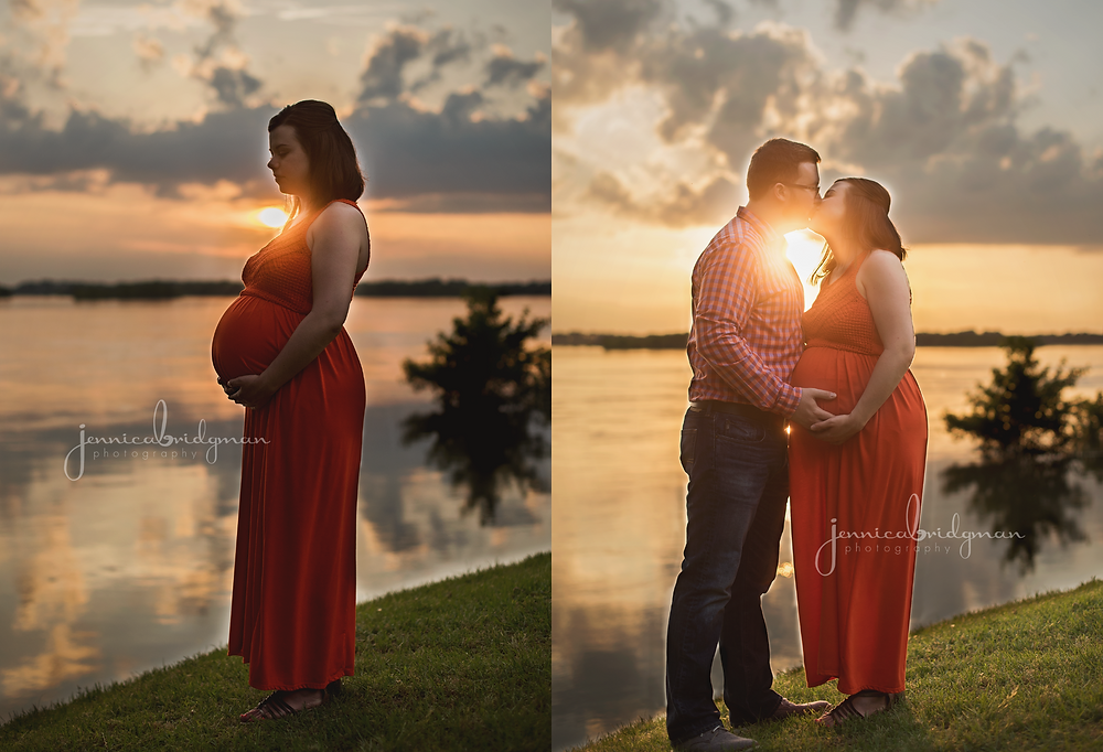 Kathryn + Andrew | Cadron Settlement Park Maternity Session | Conway, AR Maternity Photographer