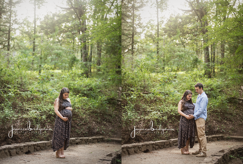 Waiting for Baby | Cadron Settlement Park Maternity Session | Conway, AR Maternity Photographer