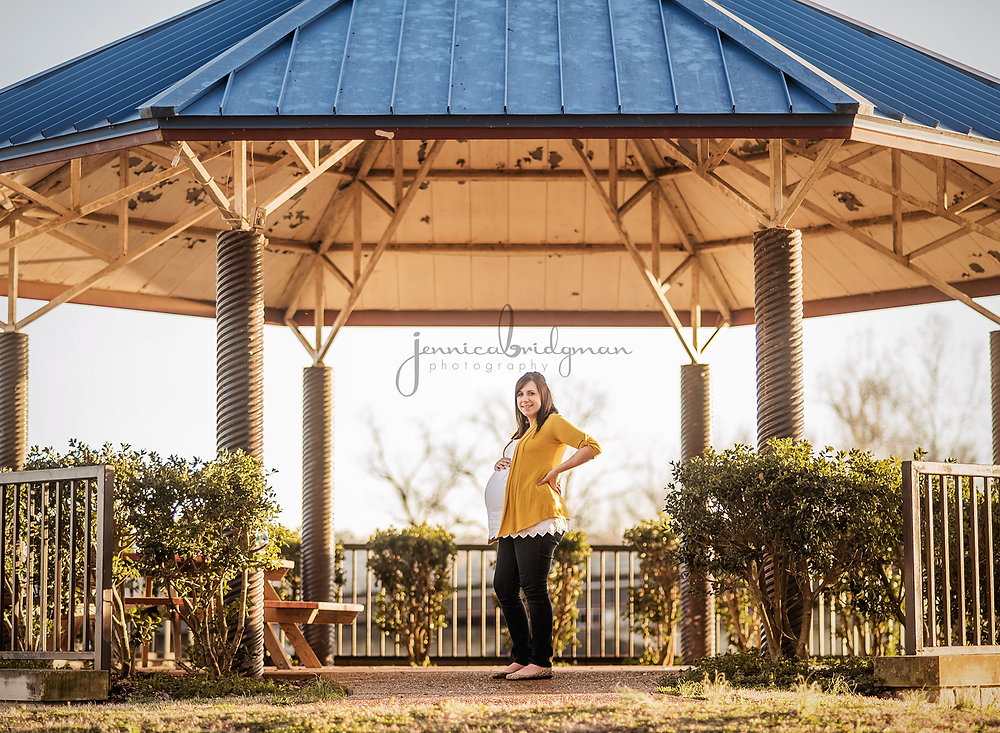 Sunset Maternity Session | Johnson Family | Conway, AR Maternity Photographer