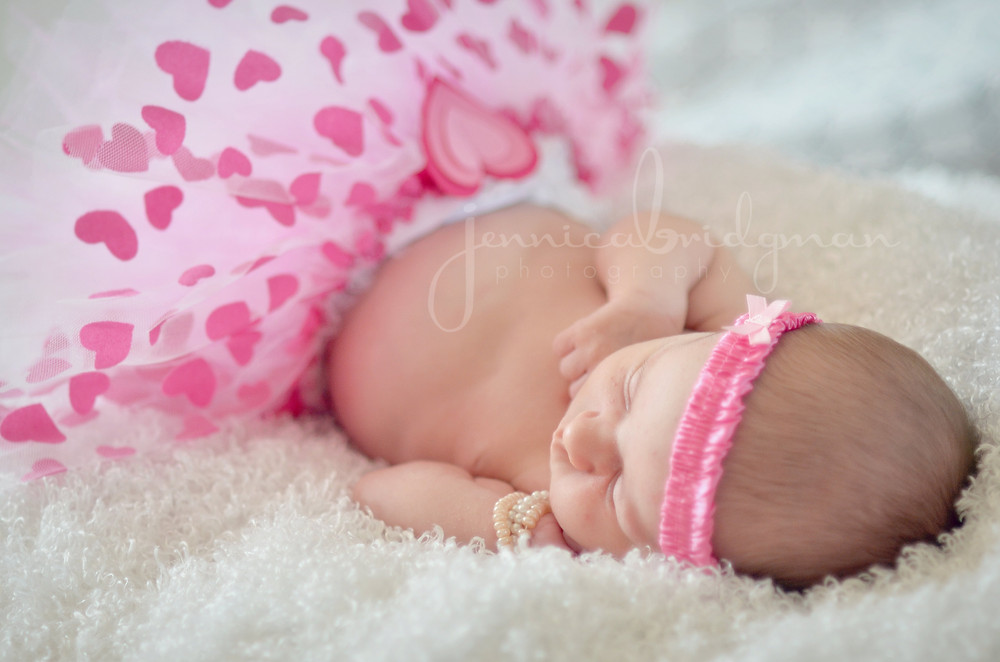 In-Home Baby Girl Newborn Session | Conway, AR Newborn Photographer