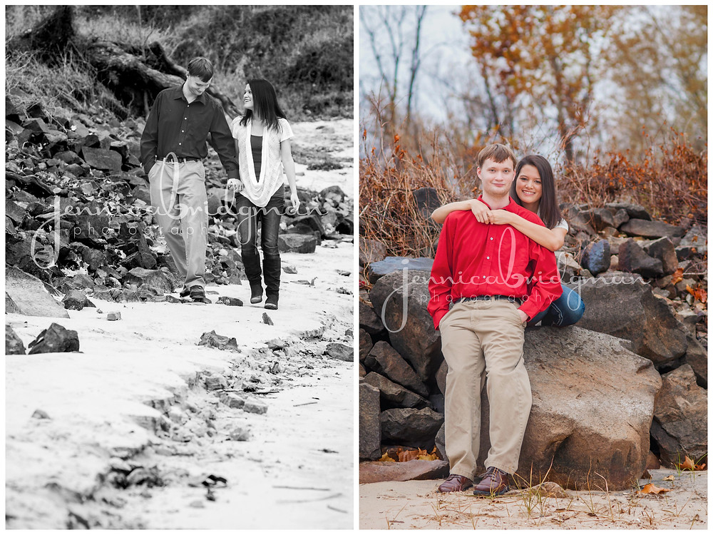 Ashley + Michael   Toad Suck Park LOVE Session   Conway, AR Engagement Photographer