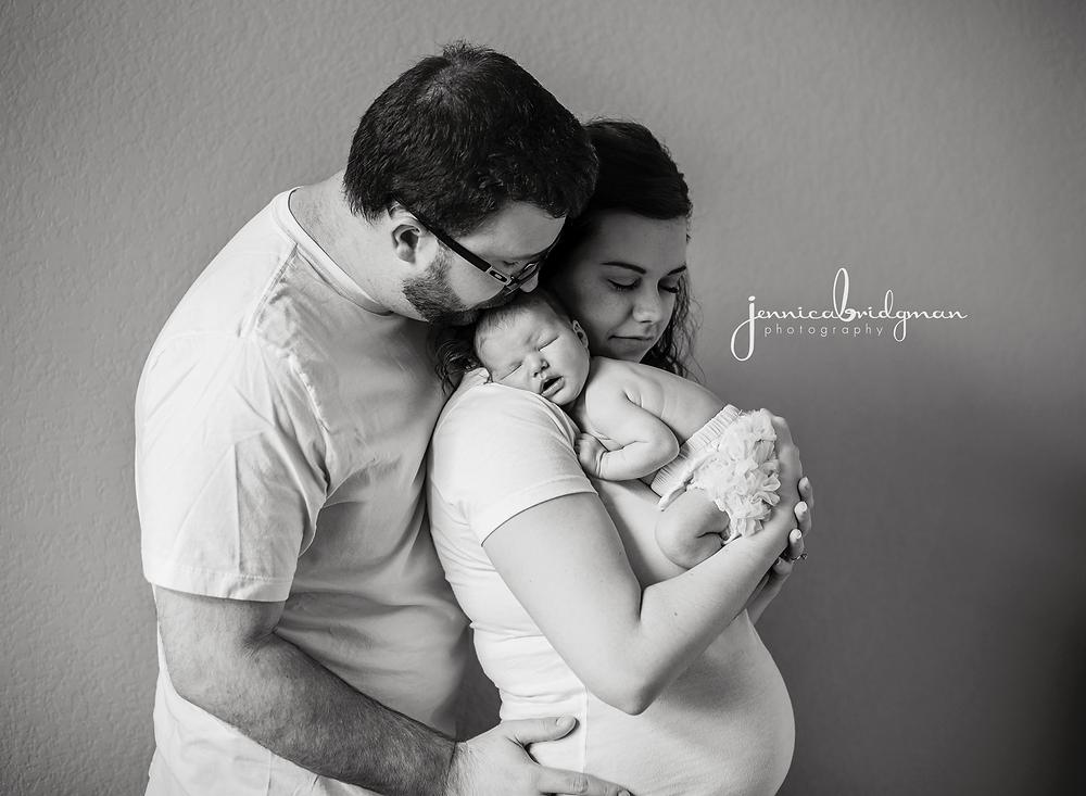 Maeve 7 Days New | Lifestyle Newborn Session | Conway, AR Newborn Photographer