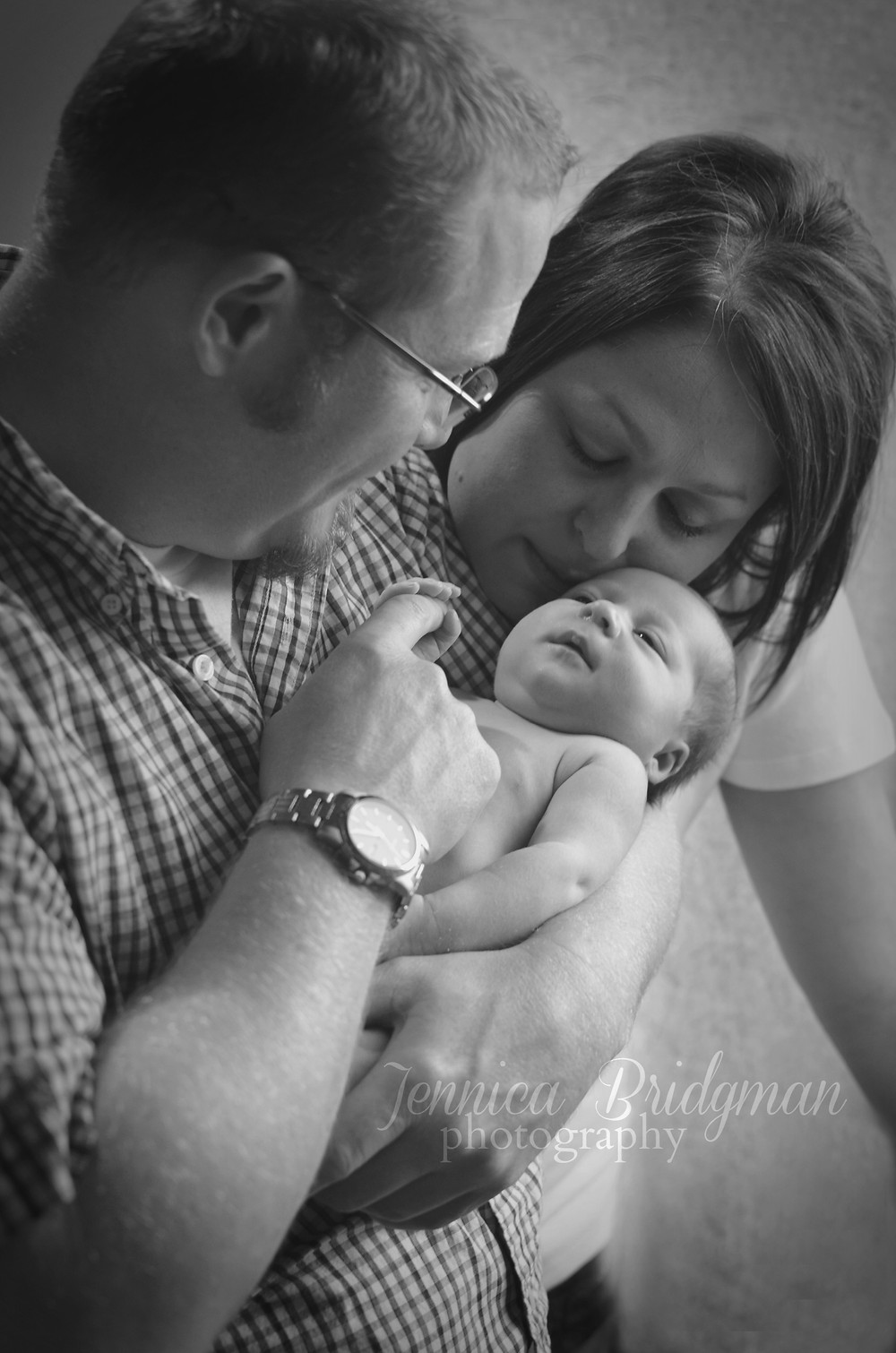 Grant Family In-Home Newborn Session | Conway, AR Newborn and Family Photographer