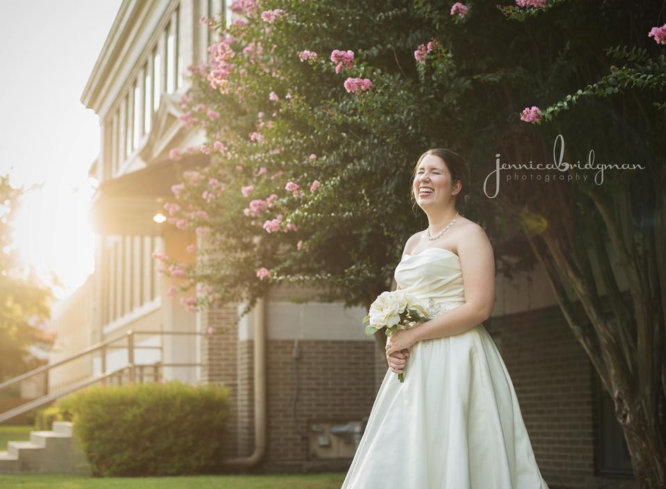 Hayley | Hendrix University Bridal Session | Conway, AR Wedding Photographer