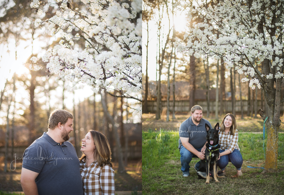Hayley + Zach | Tucker Creek Park Engagement Session | Cadron Settlement Engagement Session | Jennic