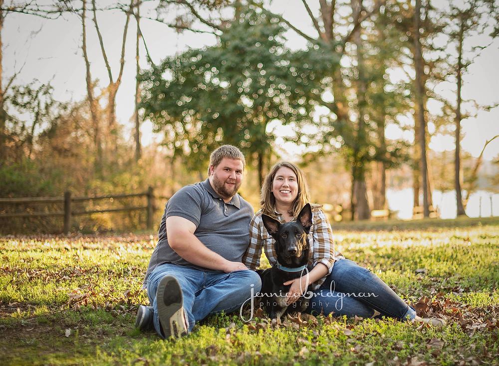 Hayley + Zach   Tucker Creek Park Engagement Session   Cadron Settlement Engagement Session   Jennica Bridgman Photography