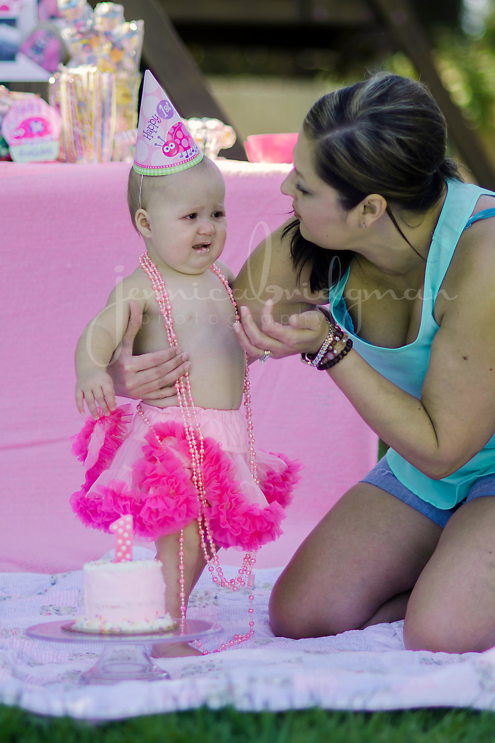 Baby J turns 1 | Cake Smash Birthday Party | Conway, AR Baby Photographer