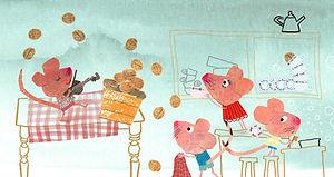 walnoten muizen afwassen kinderboek
