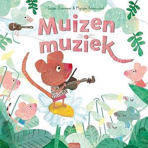Muis speelt viool boekcover kinderboek