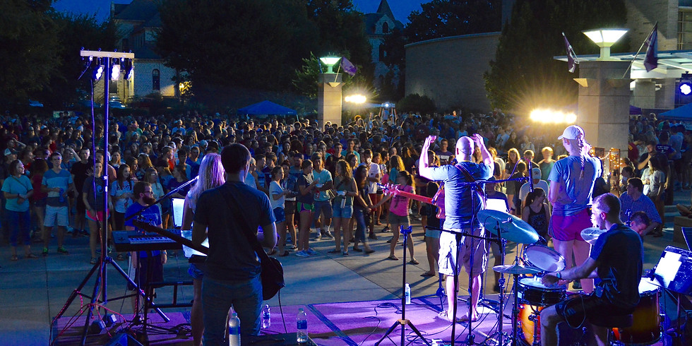 Welcome Week Events: Swing Dance, Party at the Park, and Worship Night