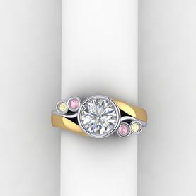 Bi-tone and Coloured Diamonds