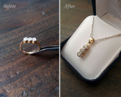 From Ring to Pendant