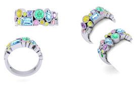 Rainbow Multi-stone