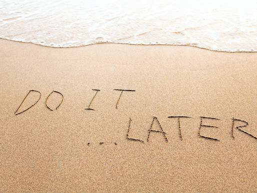 Pushing Past Procrastination