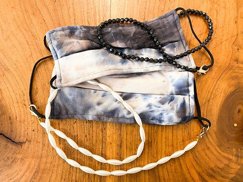 2- Tie-Dye Masks +2 Necklaces