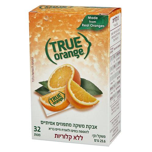 אבקת משקה טרו מתפוזים אמיתיים