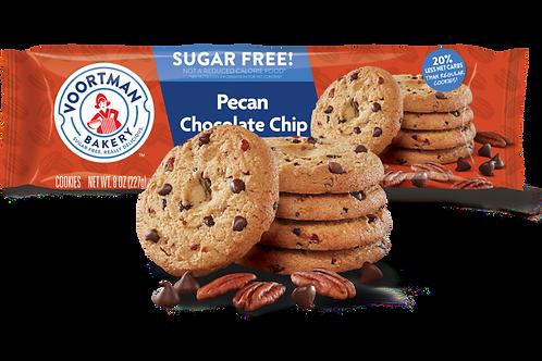 עוגיות וורטמן בטעם שוקולד צ'יפ ופקאן ללא סוכר