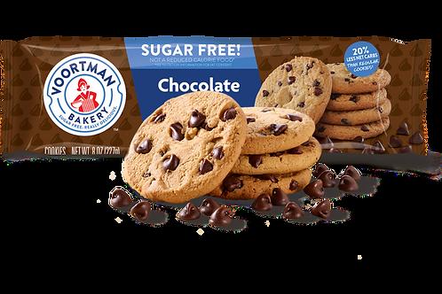 עוגיות וורטמן בטעם שוקולד צ'יפ ללא סוכר