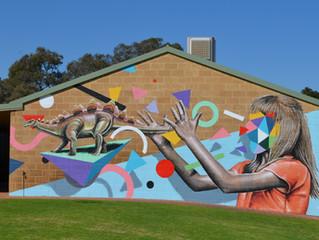 Eye-catching murals bring wonder and imagination
