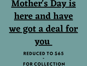 Mother's Day Tomorrow and We Have You Covered