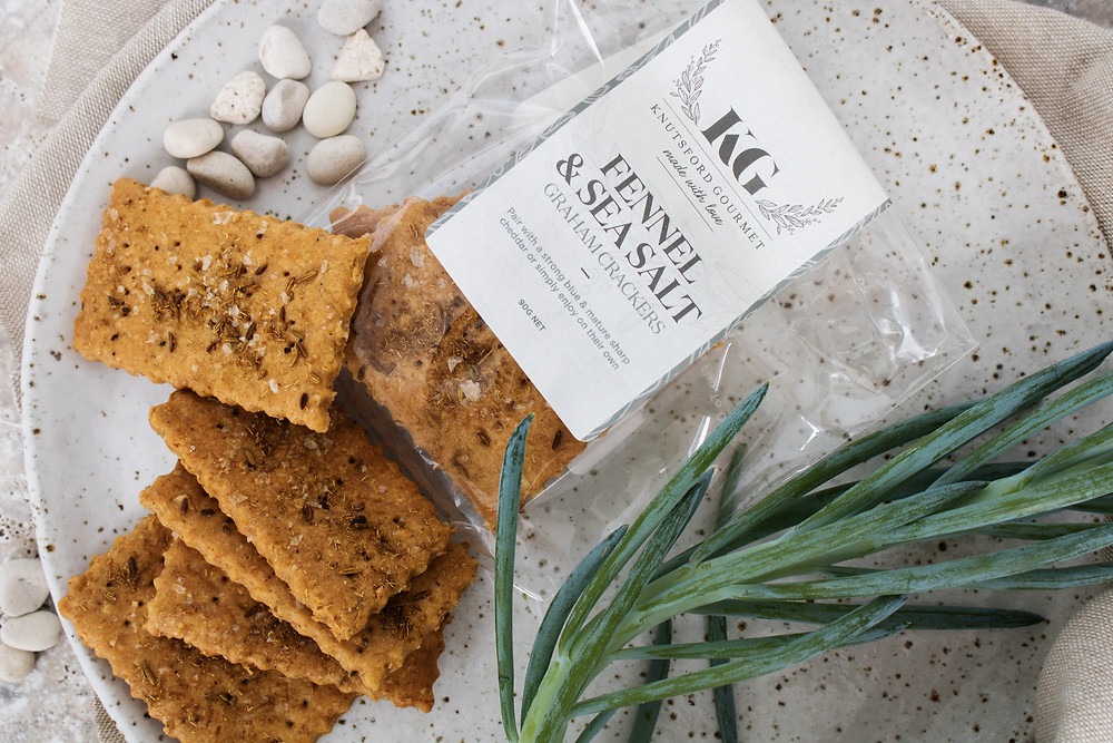 Fennel & Sea Salt Graham Crackers