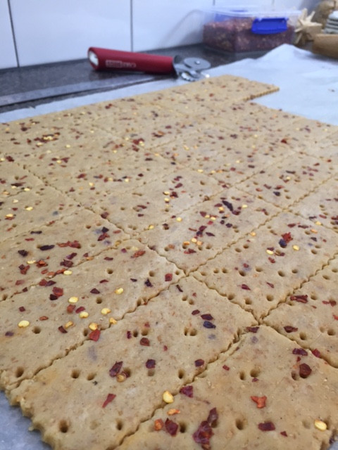 Chilli Graham Crackers