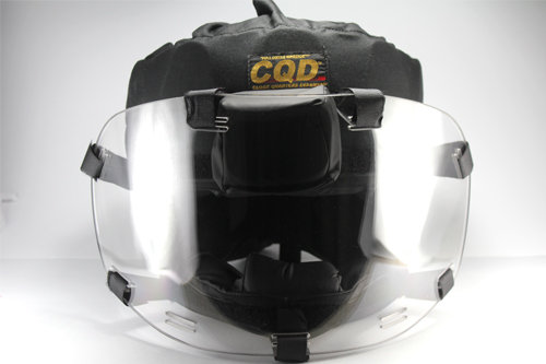 CQD® MAXIMUM PROTECTION HELMET SYSTEM - PHASE 3