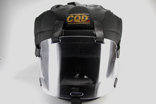 CQD® HELMET WITH THICK SHIELD - PHASE 2