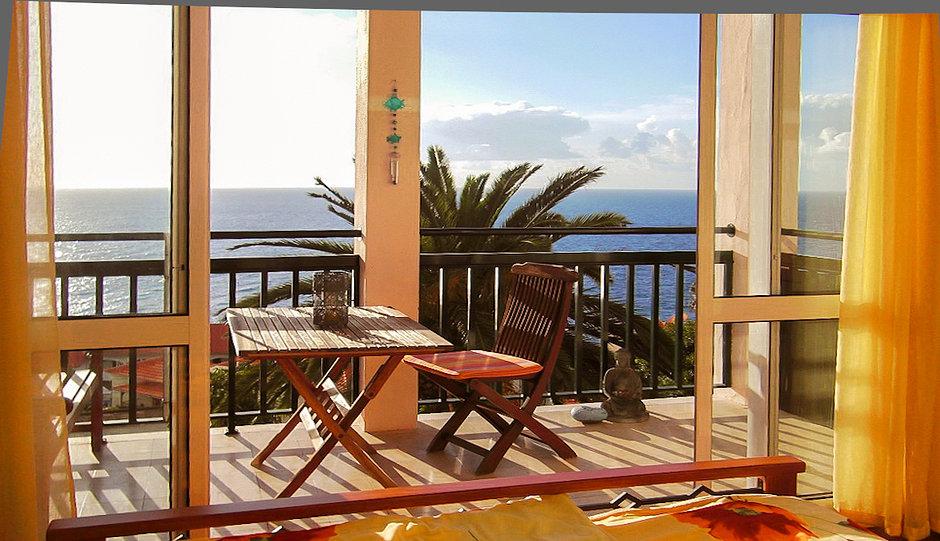 Ferienwohnung Madeira guten Morgen vom B