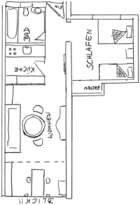 Raumaufteilung 423 & 433
