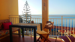 Ferienwohnung Madeira Wohnzimmer 433 Balkon3