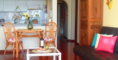 Ferienwohnung Madeira Wohnzimmer 433 Wohnzimmer3