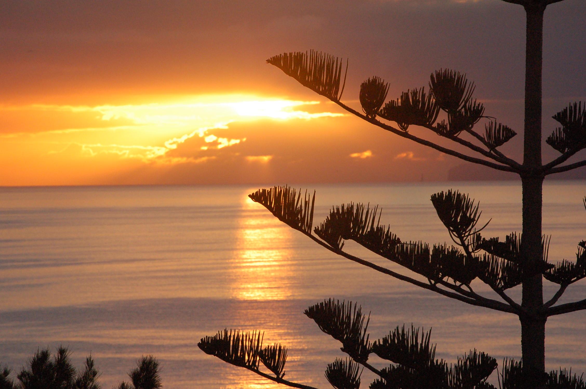 Sonnenaufgang Ferienwohnung Madeira