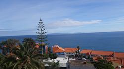 Ferienwohnung Madeira Balkon Wohnzimmer