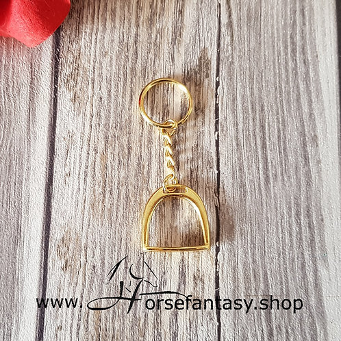 Schlüsselanhänger Steigbügel