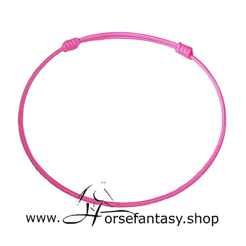 Halsring Neon rosa
