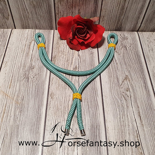 Ropestirnriemen Seagreen - Canary