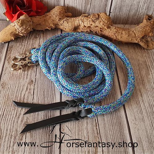 Westernzügel   Girly Blue DB2