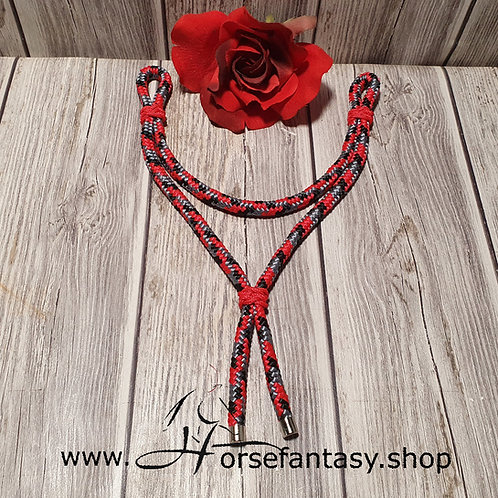 Ropestirnriemen Redcamo - Rot